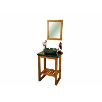 DIVERO koupelnový nábytek z týkového dřeva D30997
