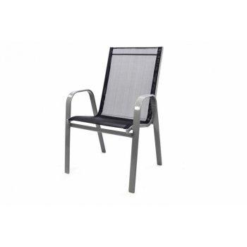 Zahradní stohovatelná židle, antracit D32290