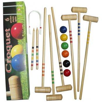 Kroket - sada pro 6 hráčů AC05998