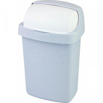 Koš odpadkový ROLL TOP 25l - sv. šedý CURVER R31466