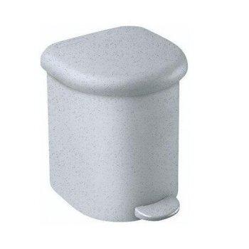 Koš odpadkový PEDAL SQR 6l - šedý CURVER R31476