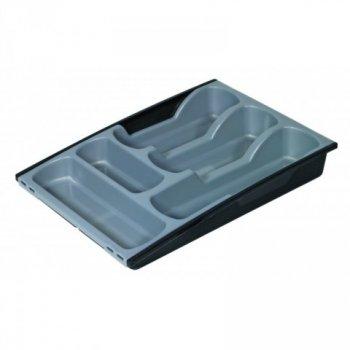 Plastový příborník - šedo/černý CURVER R31842