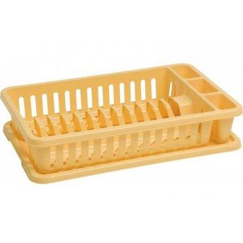 Odkapávač na nádobí - žlutý CURVER R31783