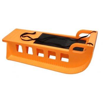 Kamzík plastové sáně A2043 oranžové AC28320