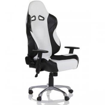 Kancelářská otočná židle RS RACER SEAT, černá/bílá M32565
