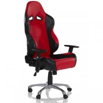 Kancelářská otočná židle RS RACER SEAT, černá/červená M32563