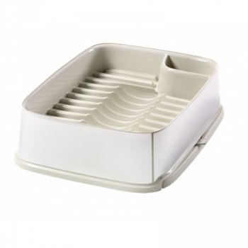 Odkapávač nádobí STYLE vysunovací - krémový CURVER R31773