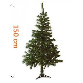 Umělý vánoční strom - tmavě zelený, 1,5 m D01102