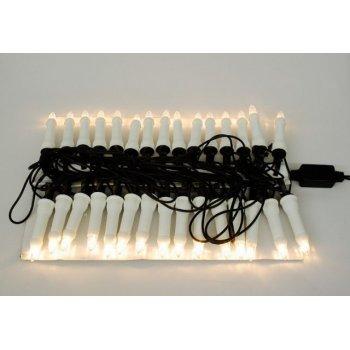 Vánoční svíčky s 30 LED diodami 16,3 m D01131