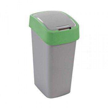 Odpadkový koš FLIPBIN 50l - zelený CURVER R31359