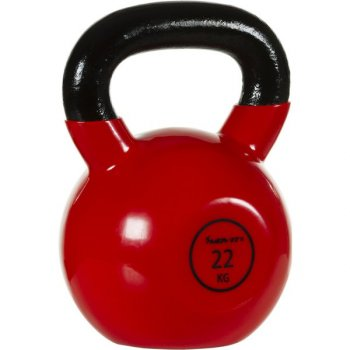 Kettlebell činka 22 kg MOVIT® s vinylovým potahem M32907