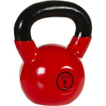 Kettlebell činka 8 kg MOVIT® s vinylovým potahem M32900