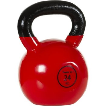 Kettlebell činka 24 kg MOVIT® s vinylovým potahem M32908