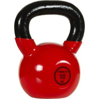 Kettlebell činka 10 kg MOVIT® s vinylovým potahem M32901