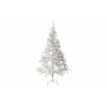 Umělý vánoční strom s třpytivým efektem - 180 cm, bílý D32994