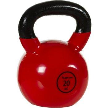 Kettlebell činka 20 kg MOVIT® s vinylovým potahem M32906