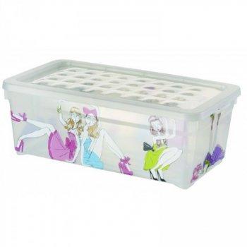 Plastový box s víkem - S - PANENKY CURVER R33013