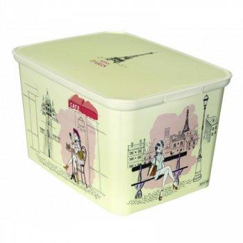 Úložný box DecoBox - L - Miss PARIS CURVER R33016