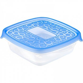 Set 5x plastová nádoba TAKE AWAY 0,6L - modrý CURVER R32871