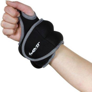 MOVIT® neoprenová kondiční zátěž 1,5 kg, černá M33066