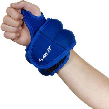 MOVIT® neoprenová kondiční zátěž 1,0 kg, modrá M33069