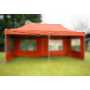 Střecha k zahradnímu stanu - 3x6m - terakota D06157