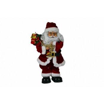 Vánoční dekorace - tančící a zpívající Santa Claus D05938