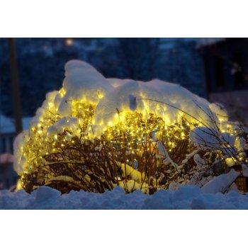 diLED světelná síť - 100 LED teple bílá + napájení D02181