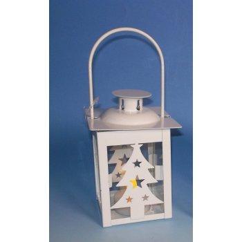 Vánoční dekorace - mini lucerna strom - 1 LED D33565