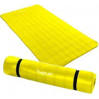 Gymnastická podložka MOVIT 190 x 100 x 1,5 cm žlutá M32910