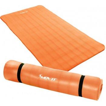 Podložka na jógu MOVIT 190 x 100 x 1,5 cm oranžová M32911