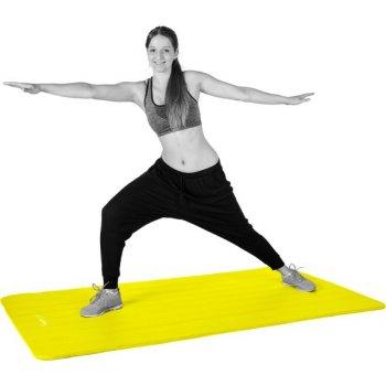 Gymnastická podložka MOVIT 190 x 60 x 1,5 cm žlutá M32913