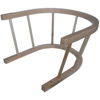 Dřevěná ohrádka na sáně