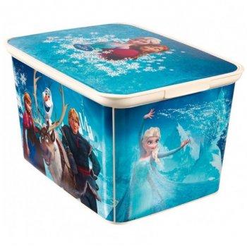 Dětský úložný box - Ledové království - L CURVER R33036