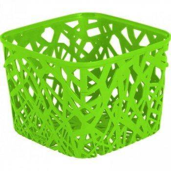 Plastový košík NEO SQUARE - zelený CURVER R32975