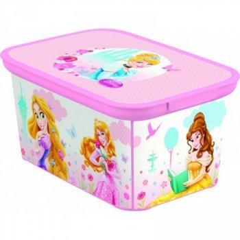 Dětský úložný box DECO - S - PRINCESS CURVER R32458