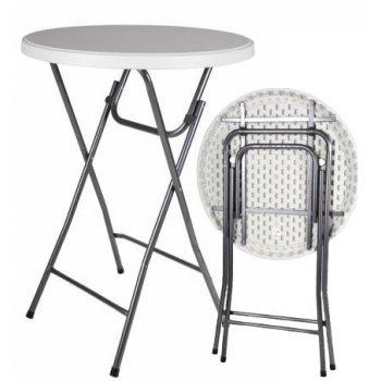 Party stolek BISTRO skládací 80 x 80 x 110 cm