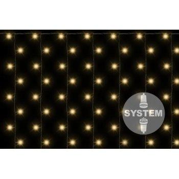 diLED světelný závěs - 200 LED teple bílá D02182