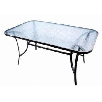 Moderní zahradní skleněný stůl Garth D01650