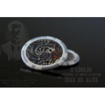 Kusový žeton design Ocean Hodnota 1 - 50 ks