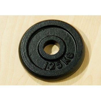 Závaží na činky 1,25 kg černé D00005