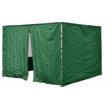 Sada 2 bočních stěn pro PROFI zahradní stan 3 x3 m zelená D30694