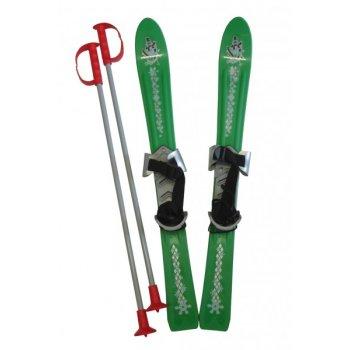 Lyže dětské 70cm - zelené Plastkon