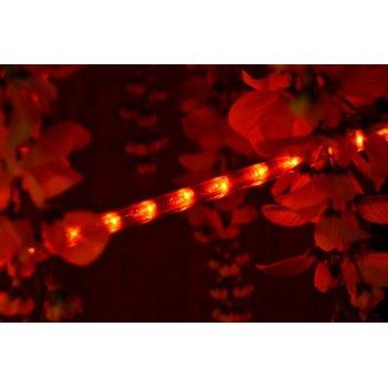Světelný kabel 20 m - červená, 720 minižárovek