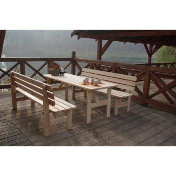 Dřevěný stůl VIKING - 200CM R35289