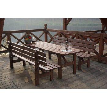 Dřevěný stůl MIRIAM - 180CM R35271