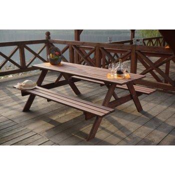 Dřevěný PIKNIK set - 180CM R35268