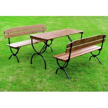 Dřevěný zahradní set BRAVO - 180CM R35267