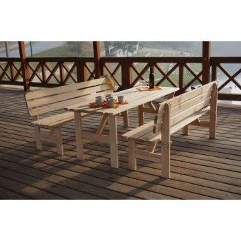 Dřevěný stůl VIKING - 180cm R35263