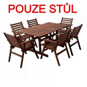 Dřevěný stůl MONROE R35313